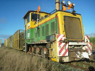 Cane railways haul cane to QLD sugar mills