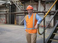 ASMC CEO visiting a QLD sugar mill